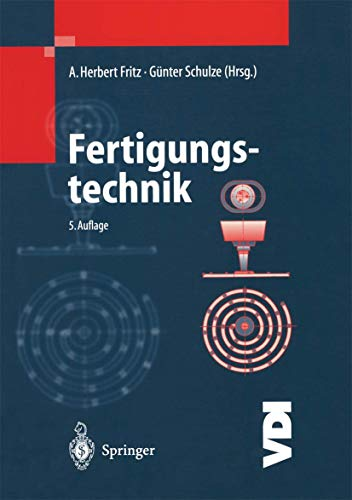 9783540412380: Fertigungstechnik (VDI-Buch)