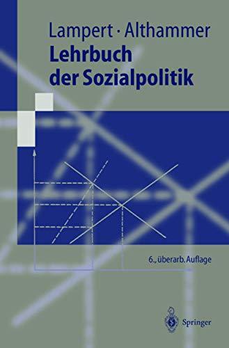 9783540413370: Lehrbuch der Sozialpolitik (Springer-Lehrbuch) (German Edition)