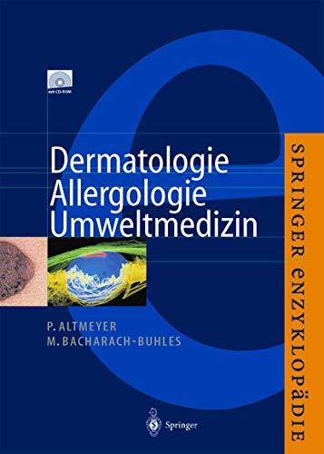 9783540413615: Enzyklopädie Dermatologie, Allergologie, Umweltmedizin (German Edition)