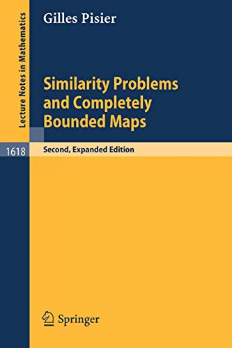 9783540415244: Similarity Problems and Completely Bounded Maps (Lecture Notes in Mathematics)
