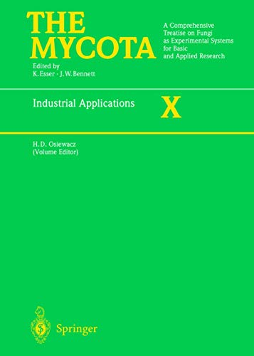 9783540415831: Industrial Applications (The Mycota)