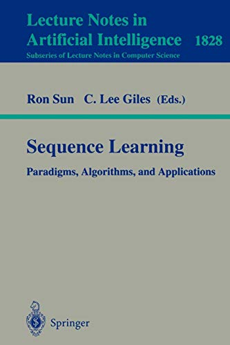 9783540415978: Sequence Learning: Paradigms, Algorithms, and Applications (Lecture Notes in Computer Science)