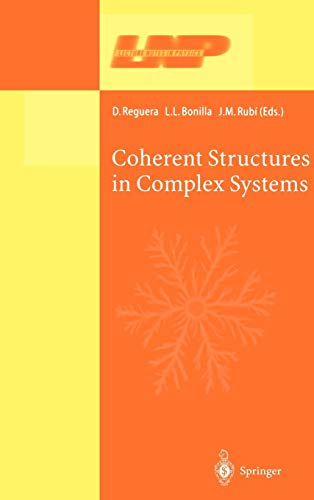9783540417057: Coherent Structures in Complex Systems: Selected Papers of the XVII Sitges Conference on Statistical Mechanics Held at Sitges, Barcelona, Spain, 5 9 ... Version (Lecture Notes in Physics)