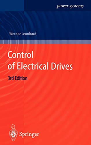 9783540418207: Control of Electrical Drives