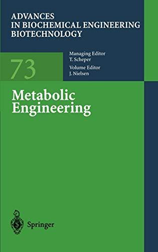 9783540418481: Metabolic Engineering (Advances in Biochemical Engineering/Biotechnology)