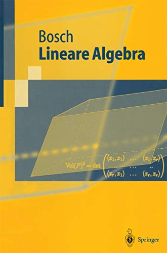 9783540418535: Lineare Algebra (German Edition)