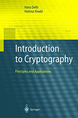 9783540422785: Introduction to Cryptography