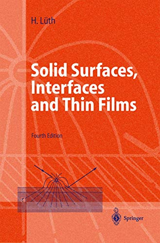 9783540423317: Solid Surfaces, Interfaces and Thin Films