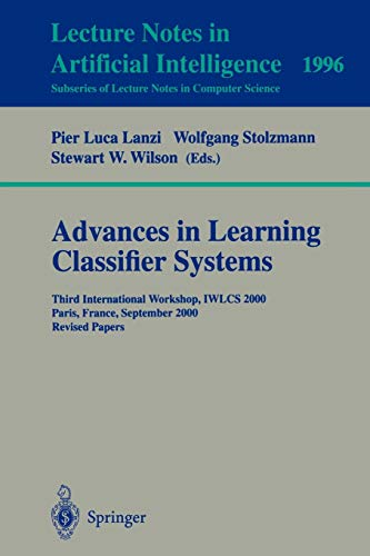 9783540424376: Advances in Learning Classifier Systems