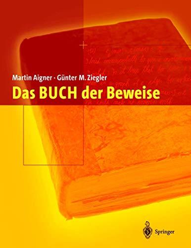 Das BUCH der Beweise (3540425357) by Martin Aigner; Günter M. Ziegler; K.H. Hofmann