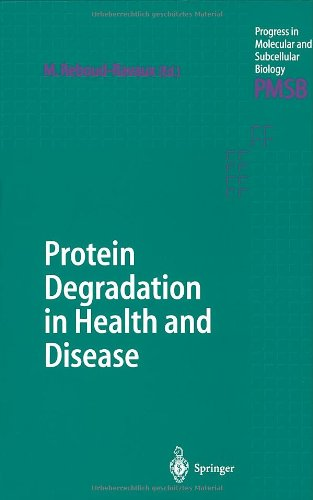 9783540425946: Protein Degradation in Health and Disease