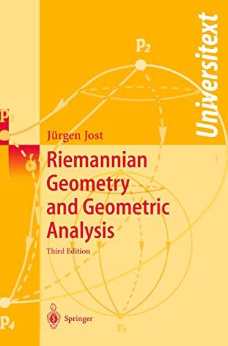 9783540426271: Riemannian Geometry and Geometric Analysis