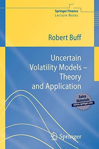 9783540426578: Uncertain Volatility Models - Theory and Application
