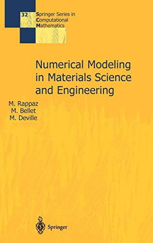 9783540426769: Numerical Modelling in Materials Science and Engineering