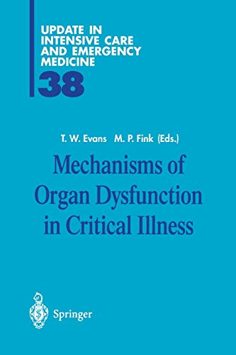 9783540426929: Mechanisms of Organ Dysfunction in Critical Illness (Update in Intensive Care Medicine)