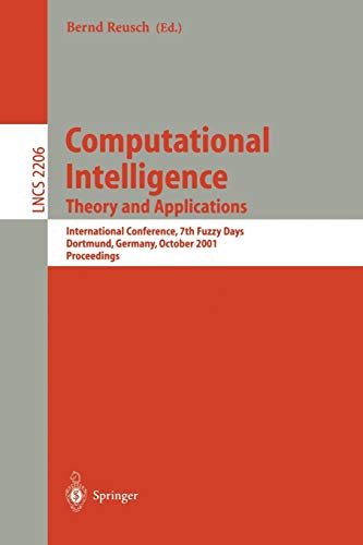 Computational Intelligence. Theory and Applications: International Conference, 7th Fuzzy Days ...