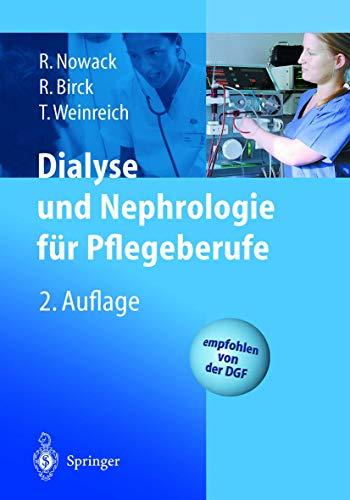 9783540428114: Dialyse Und Nephrologie Fa1/4r Pflegeberufe