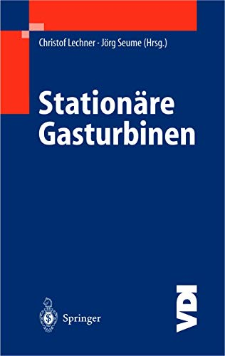 9783540428312: Stationäre Gasturbinen (VDI-Buch) (German Edition)
