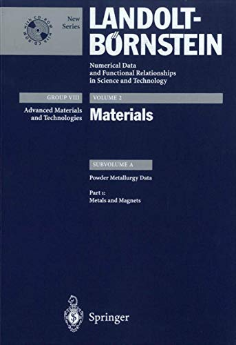 9783540429425: Metals and Magnets (Landolt-Börnstein: Numerical Data and Functional Relationships in Science and Technology - New Series)