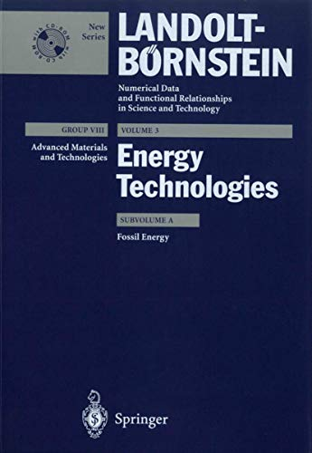 9783540429432: Fossil Energy