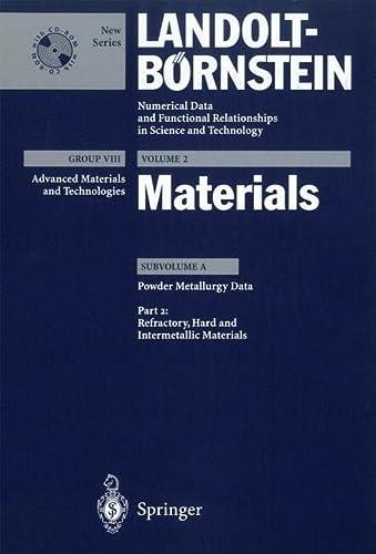 Refractory, Hard and Intermetallic Materials (Hardcover): G.E. Spriggs