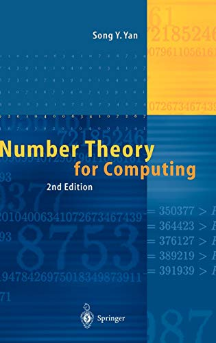 9783540430728: Number Theory for Computing