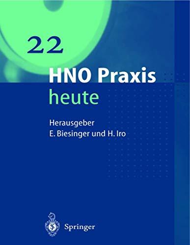 9783540431947: HNO Praxis heute (HNO Praxis heute  (abgeschlossen))