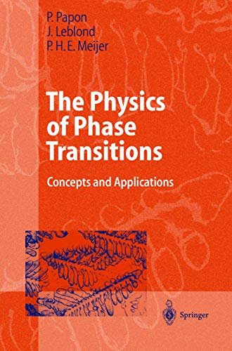 9783540432364: The Physics of Phase Transitions