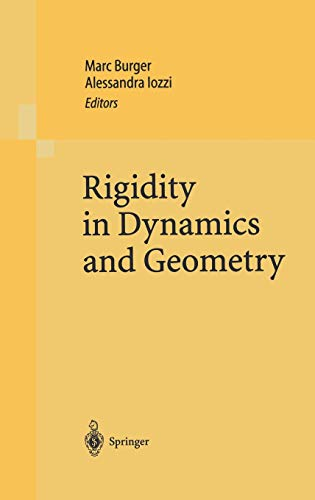 9783540432432: Rigidity in Dynamics and Geometry