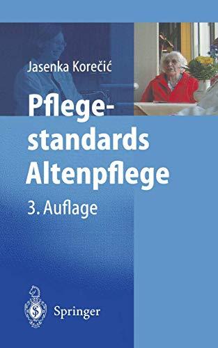 9783540432791: Pflegestandards Altenpflege.