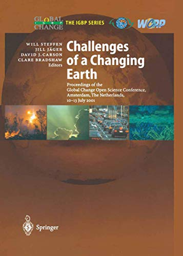 Challenges of a Changing Earth: Jill Jager, W.L.
