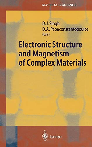 9783540433828: Electronic Structure and Magnetism of Complex Materials