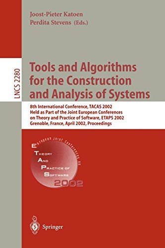 9783540434191: Tools and Algorithms for the Construction and Analysis of Systems