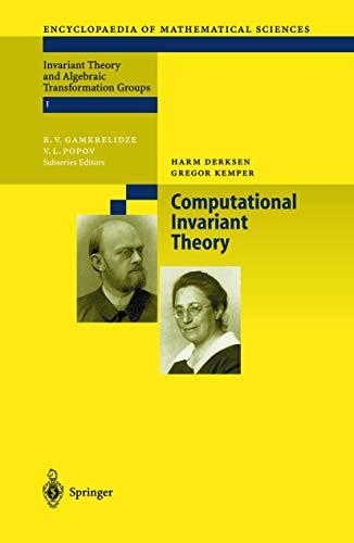 9783540434764: Computational Invariant Theory