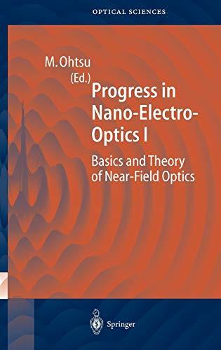 9783540435044: Progress in Nano-Electro-Optics I (v. 1)