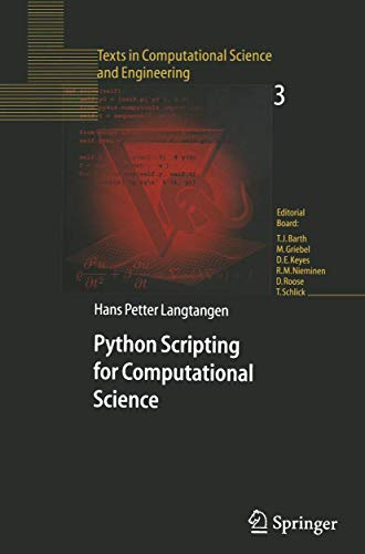 9783540435082: Python Scripting for Computational Science