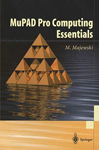 9783540435747: MuPAD Pro Computing Essentials