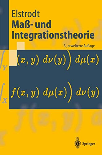 9783540435822: Mass- und Integrationstheorie (Livre en allemand)