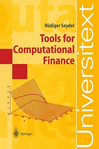 9783540436096: Tools for Computational Finance