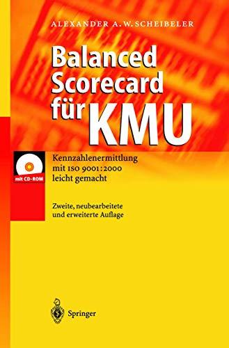 9783540436799: Balanced Scorecard Fur Kmu: Kennzahlenermittlung Mit ISO 9001: 2000 Leicht Gemacht
