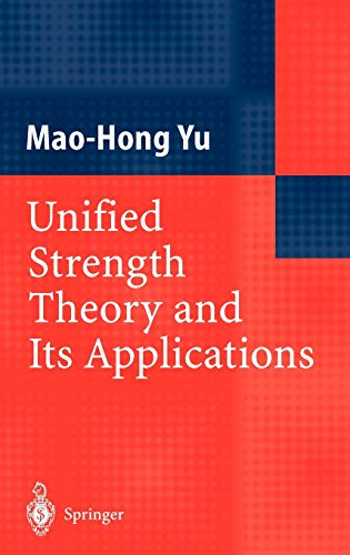 9783540437215: Unified Strength Theory and Its Applications