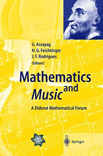 Mathematics and Music: A Diderot Mathematical Forum