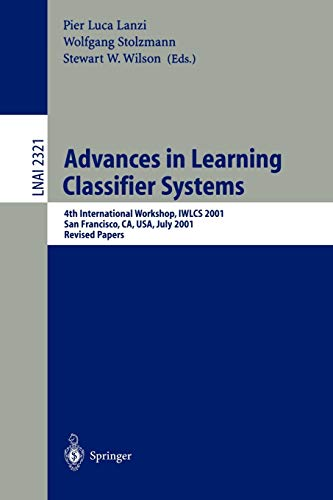 9783540437932: Advances in Learning Classifier Systems