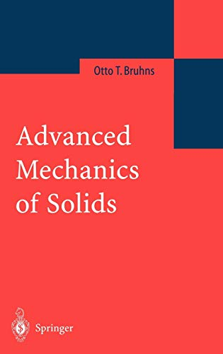 9783540437970: Advanced Mechanics of Solids