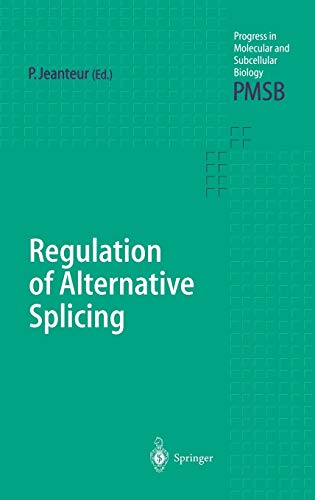 Regulation of Alternative Splicing: Philippe Jeanteur