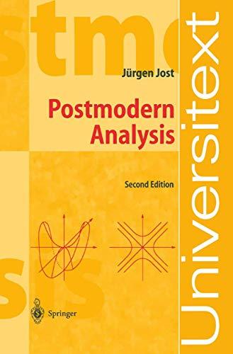 9783540438731: Postmodern Analysis (Universitext)