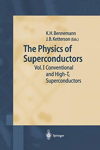 9783540438830: The Physics of Superconductors, Vol. 1: Conventional and High-Tc Superconductors