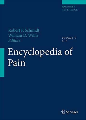 Encyclopedia Of Pain (3 Volume Set): Schmidt