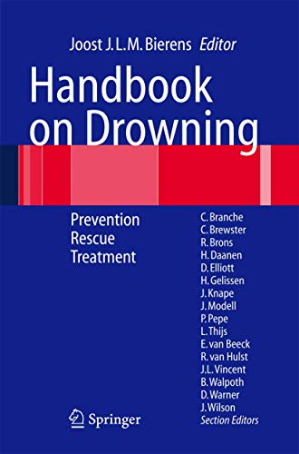 Handbook on Drowning: Prevention, Rescue, Treatment (Hardcover)