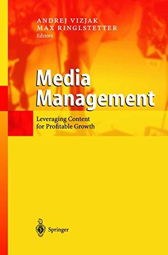 9783540440055: Media Management